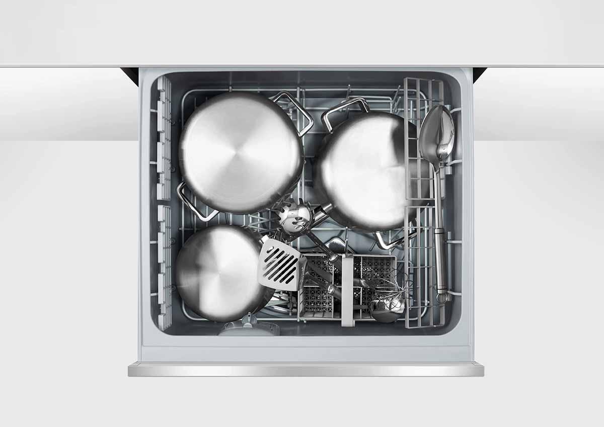 FISHER&PAYKEL 菲雪品克 9系列 抽屜式洗碗機 雙層不銹鋼抽屜式洗碗機 DD60DCHX9