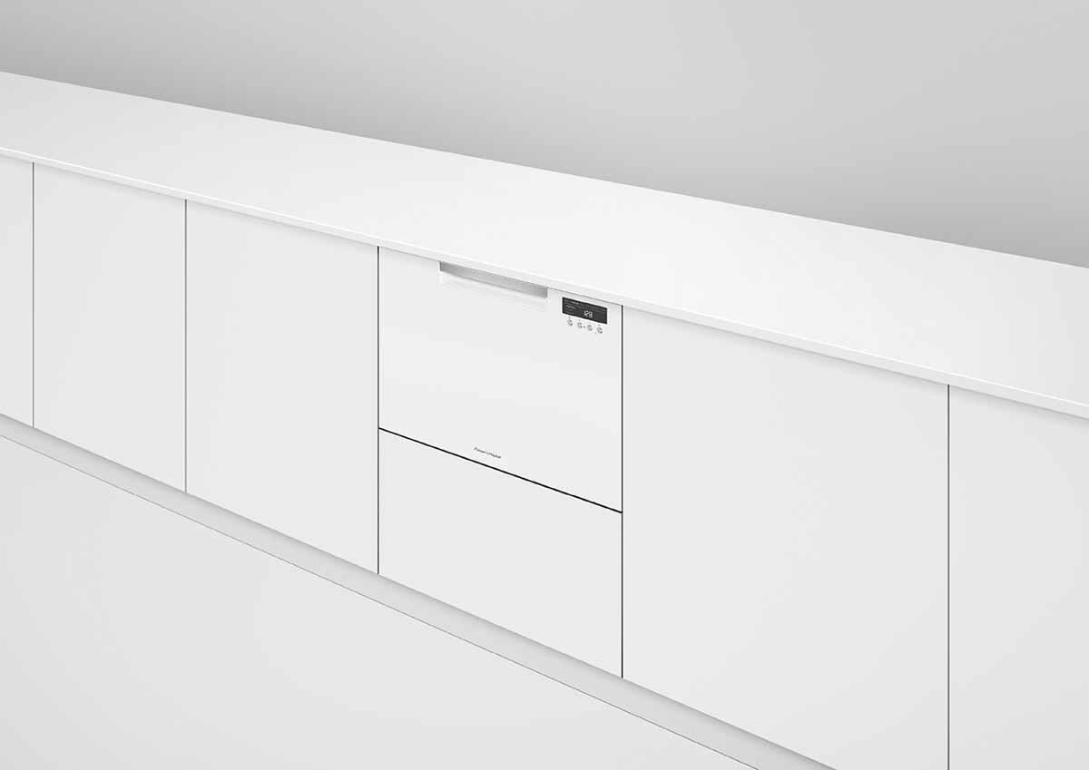 FISHER&PAYKEL|菲雪品克|9系列|抽屜式洗碗機|單層白色抽屜式洗碗機|DD60SCHW9|