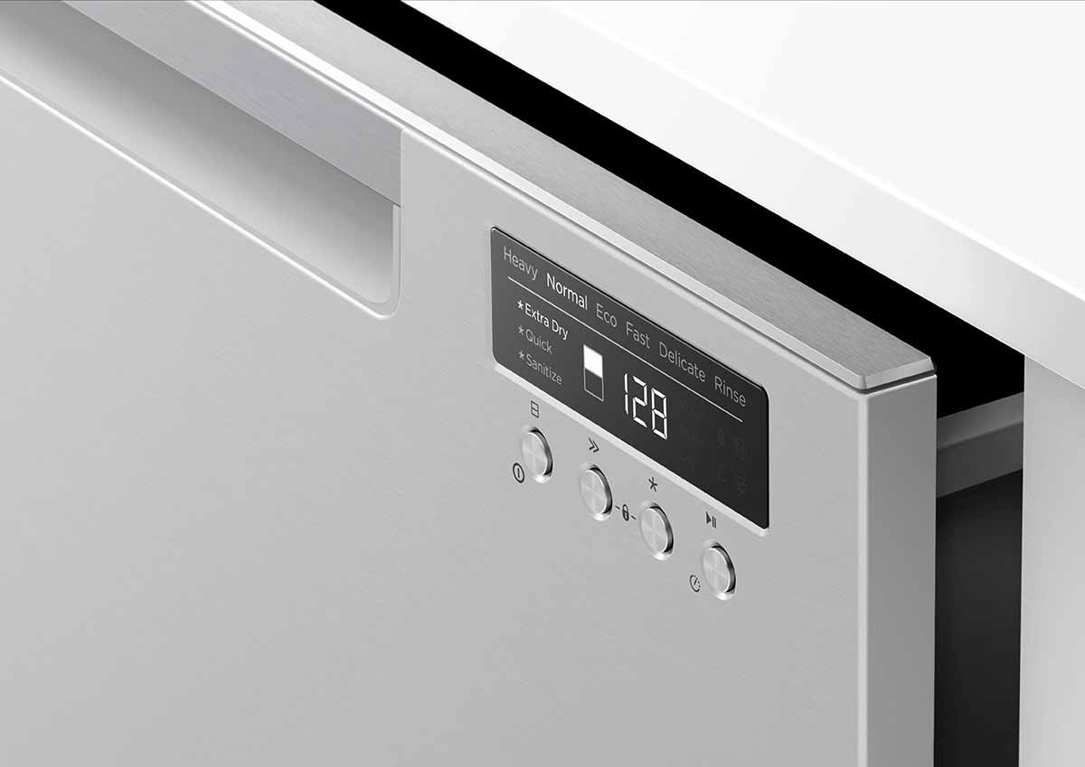 FISHER&PAYKEL|菲雪品克|9系列|抽屜式洗碗機|單層不銹鋼抽屜式洗碗機|DD60SCTHX9