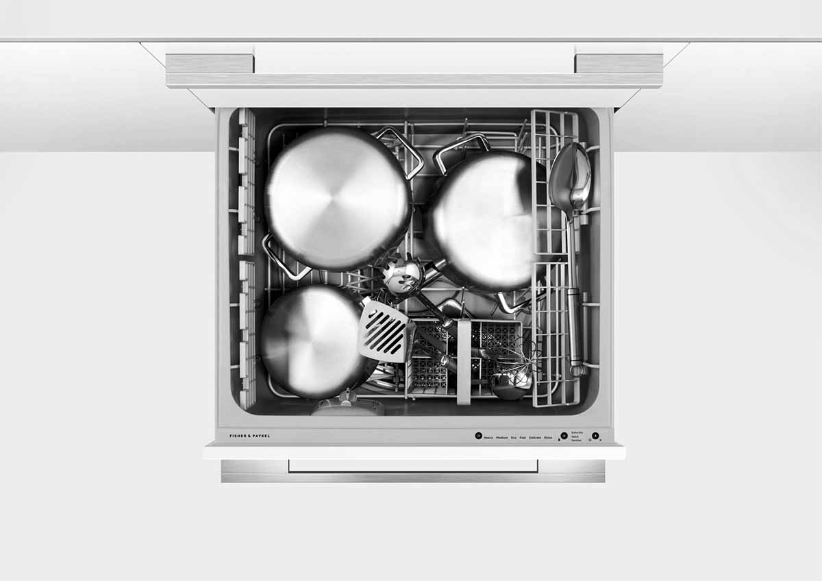 FISHER&PAYKEL 菲雪品克 9系列 抽屜式洗碗機 雙層設計師款抽屜式洗碗機 DD60SHI9 